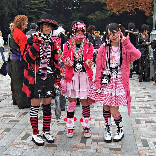 Outsider Japan Harajuku Style